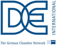 DEinternational logo