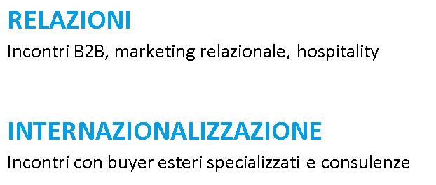 Relazioni e internazionalizzazione
